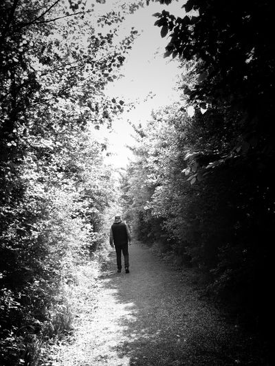 On our Sunday stroll Real People Outdoors Nature Adult Growth Beauty In Nature EyeEm Gallery Relaxing Outside Human Body Part Man Summer Blackandwhite Blackandwhite Photography Black & White