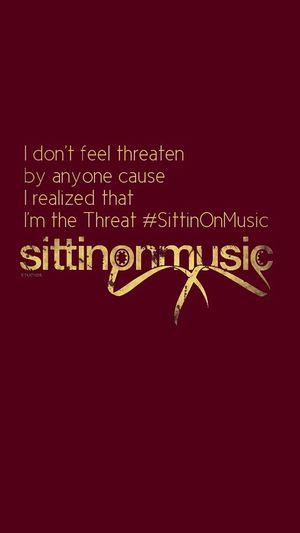 SittinOnMusic Picoftheday TheComeUp Hello World