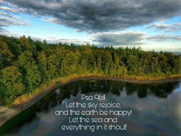 Water Tree Cloud - Sky Beauty In Nature Cloudy Outdoors Majestic Rejoice Praising The Lord Psalms Landscape