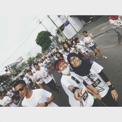 Gosemangat Lari-lari Run And Colour Party Sidoarjo2K15 Nice