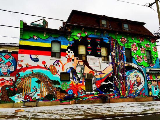 Queen Street West Graffiti Toronto IPhoneography Street Art Streetart/graffiti
