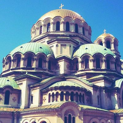 Alexander Nevsky #Chathedral is one of the largest eastern #orthodox cathedrals in the world . #Sofia #AlexanderNevsky Sofia Orthodox Chathedral Alexandernevsky