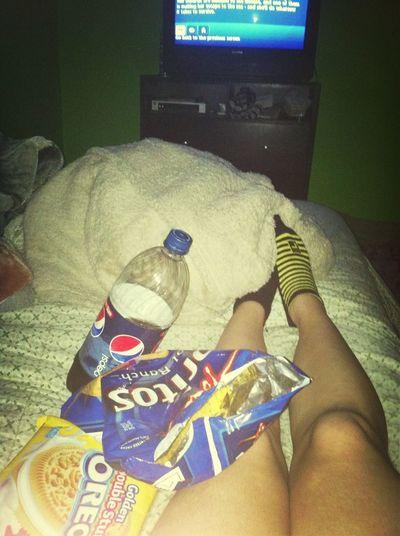 Munchies& Watching Movies