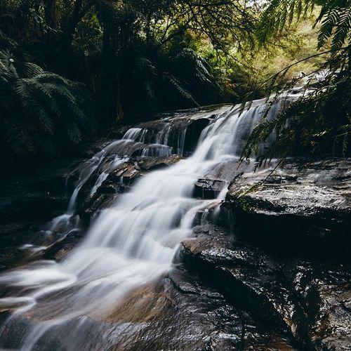 australia. Long Exposure Showcase: January EyeEm Best Shots EyeEmBestPics EyeEm Gallery Sydney Moutains Hiking Waterfall Water Bluemountains Canonphotography Canon