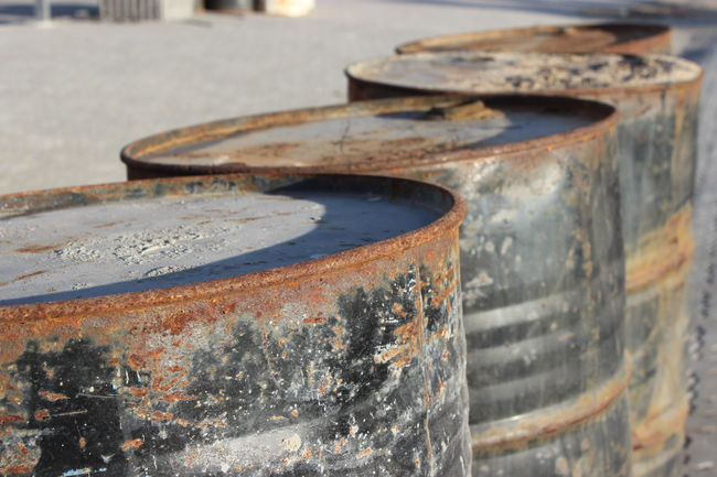 Barrel Barrels Damaged Decaying Harbour Insights Old Peeling Off Weathered