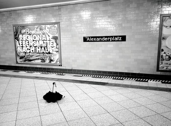 Day 238 - Someone was in a hurry Berlin Blackandwhite Public Transportation Streetphotography Streetphoto_bw 365project 365florianmski Day238