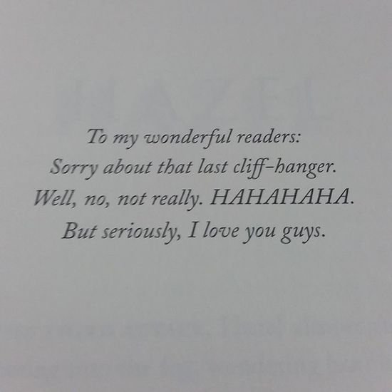 Well, i saw this in the fourth book. You're so awesome, Rick! Houseofhades Heroesofolympus Rickriordan