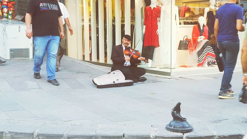 For The Love Of Music Pharell Williams Street Musician Street Music Ankara Streetphotography
