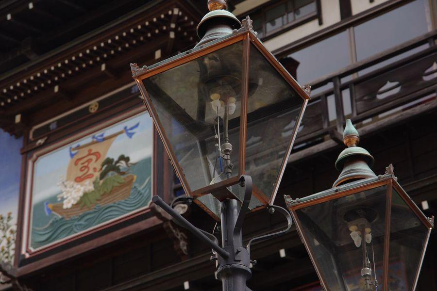 銀山温泉 にて… ガス燈 Japan Photography From My Point Of View