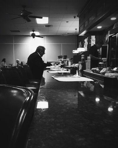 Diner Blackandwhite Streetphotography Streetphoto_bw