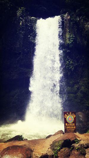 Mahua Waterfall in Tambunan, simply God's work of art.