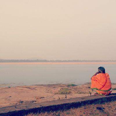 River Mahanadi Priest