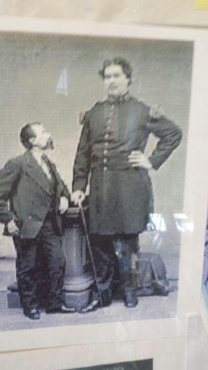 Martin Van Buren Bates-7ft 11 inch Cobfederate Soldier