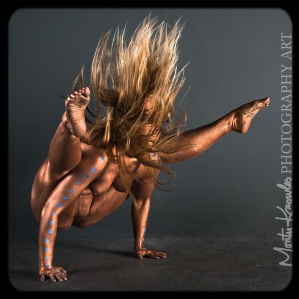Body paint and photography by Monty Knowles Bodypainting CreativePhotographer Yoga Flexible