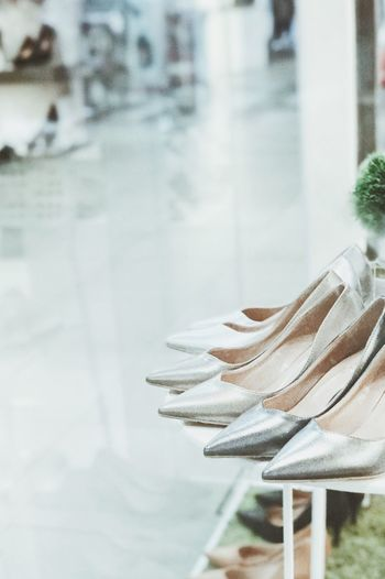 Many women's shoes are placed on shelves. Shoes Accesories Womenwear Object Shelves Sale Show