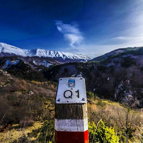 Landscapes With WhiteWall Nature Montain  Sky Autumn Parconazionaledabruzzo Abruzzo Italy