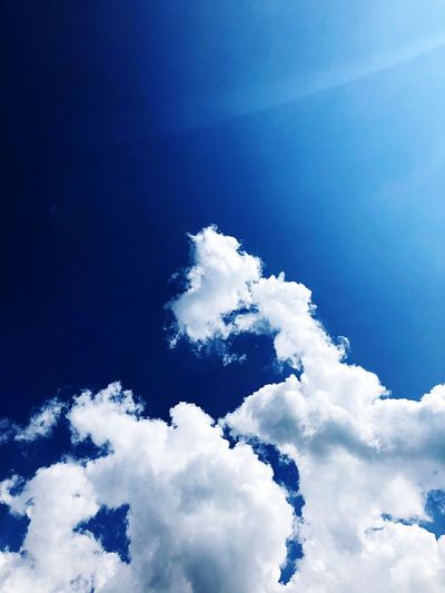 ☁️ Cloud - Sky Sky Low Angle View Blue Beauty In Nature Nature Scenics - Nature No People Tranquility Day Tranquil Scene White Color Outdoors Idyllic Snow Sunlight Tree Cold Temperature Infinity Meteorology 17.62°