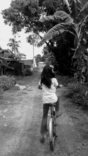 the biker... Black And White Photography Children Portraits Monocrhome Nature Photography