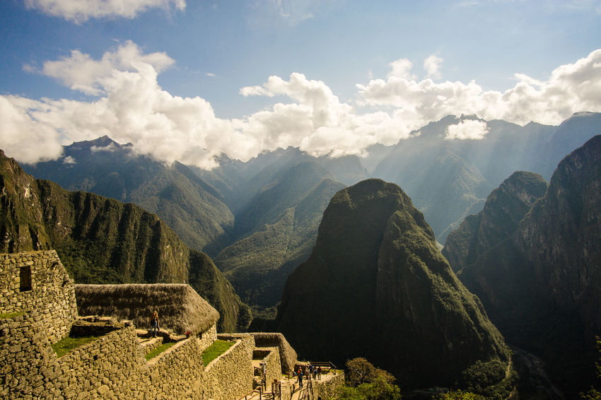 Lucky with the wheater at Machu Picchu, Peru Ancient Ancient Civilization Beauty In Nature Cloud - Sky Day History Landscape Machu Picchu Mountain Mountain Range Nature No People Old Ruin Outdoors Scenics Sky Sony A6000 Tourism Tranquil Scene Tranquility Travel Travel Destination Travel Destinations EyeEmNewHere Eye4photography
