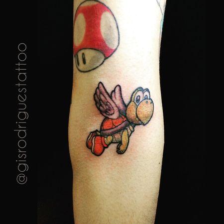 Koopa Troopa Gametattoo Tattoo Tatuagem Tatuaje Tatuariarodrigues