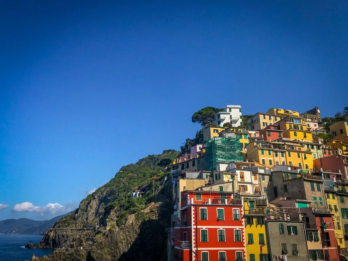 Maggiore Italy Beach Sky Architecture Built Structure Building Exterior Blue Clear Sky Building Nature Mountain
