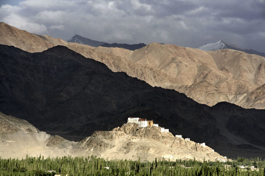 Architecture Beauty In Nature Buddhism Day Dramatic Sky Himalayas Indus Valley Ladakh Landscape Light And Shadow Monastery Mountain Mountain Range Nature No People Outdoors Place Of Worship Scenics Sky The Great Outdoors - 2017 EyeEm Awards Thiksey Tranquility EyeEm Nature Lover EyeEm Best Shots Lost In The Landscape Perspectives On Nature