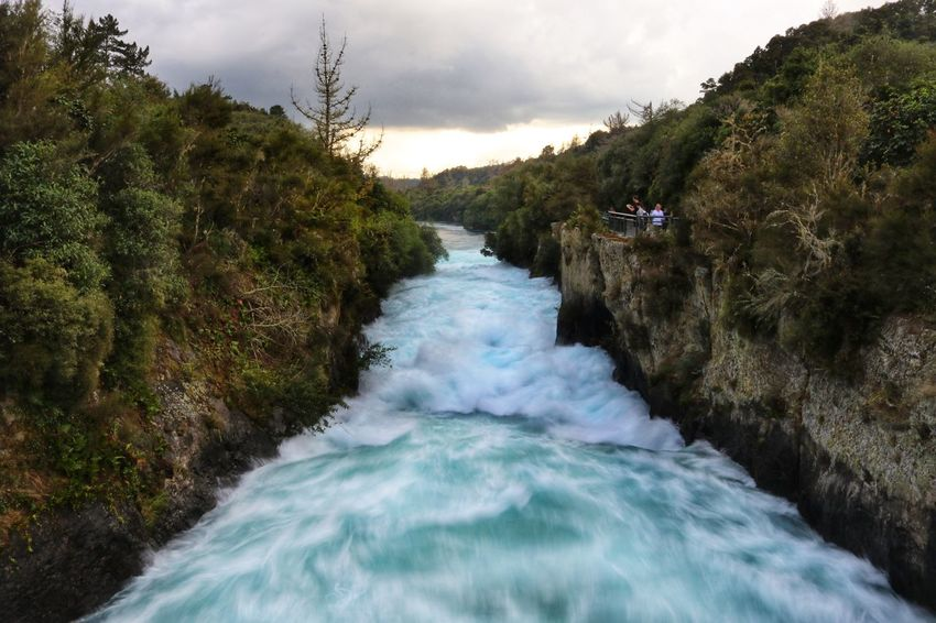 New Zealand Huka Falls Huka Falls, NZ Water Rapids White Water Rapids  White Water Blue colour of life Stormy Weather Stormy Sky Storm Clouds Sunset Nature No People Scenery New Zealand Scenery Scenics - Nature Plant Motion Tree Beauty In Nature River Sky Cloud - Sky Flowing Water Flowing Long Exposure Power Land Blurred Motion Aquatic Sport Outdoors Power In Nature Stream - Flowing Water