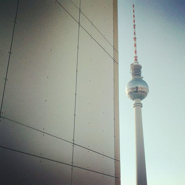 Berlin Architecture Alexanderplatz Fernsehturm Morningafter