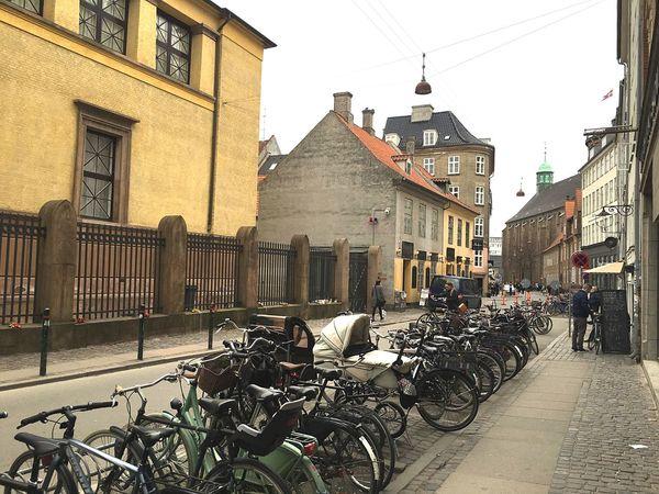 Urban Lifestyle Green Bikes Copenhagen Copenhagen, Denmark