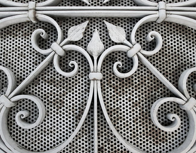 Full Frame Shot Detail of Decorated Metal Gate 2016 Abstract Art And Craft Backgrounds Circle Close-up Creativity Day Design Detail Directly Above Full Frame Geometry Horizontal Symmetry Metal Metal Gate No People Ornate Pattern Repetition Shape Still Life Symbol Symmetry