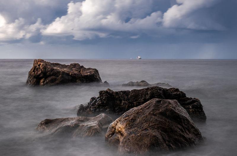 Seascape in chianalea - scilla