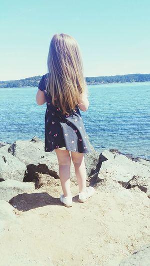 Islandgirl Ocean Toddlerlife Myparadise