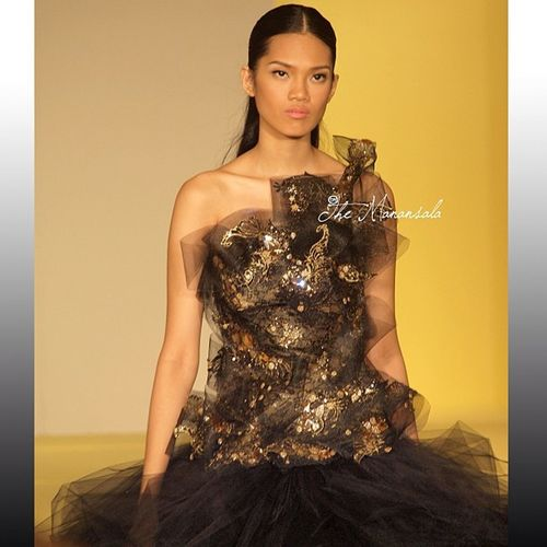 Filipina Ford Models' Supermodel of the World DanicaMagpantay in RolandLirio Collection Philippinefashionweek phfw runway fashion instapic instagram instagraphy throwback themanansala photography manila milan newyork paris london canada australia newzealand brazil ireland wales