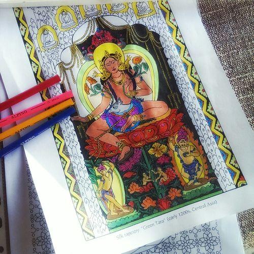 Make Magic Happen Colors Coloring Mandalas!  Coloring Life