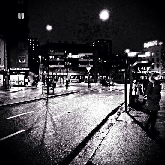 Oslo Black And White Black & White Urban