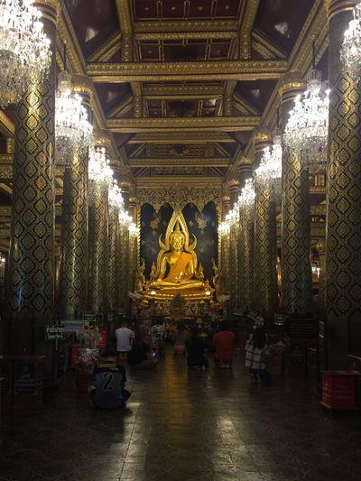 Bhuddha in gold