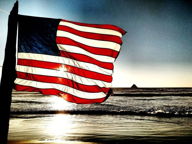 The Shining Flag Flag Patriotism Striped Stars And Stripes Freedom Independence Pride Outdoors No People