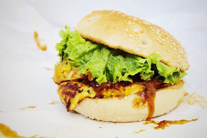 Chicken burger Burger Burgers Fastfood Fast Food Hamburger Chicken Burger Food Close-up Close Up Realfood