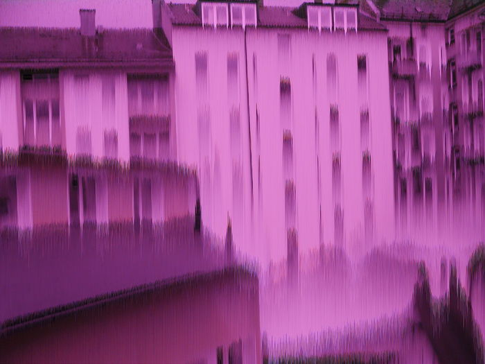 Architecture Built Structure Malfunction No People Pink Color Purple Showing Imperfection Samsung NV7