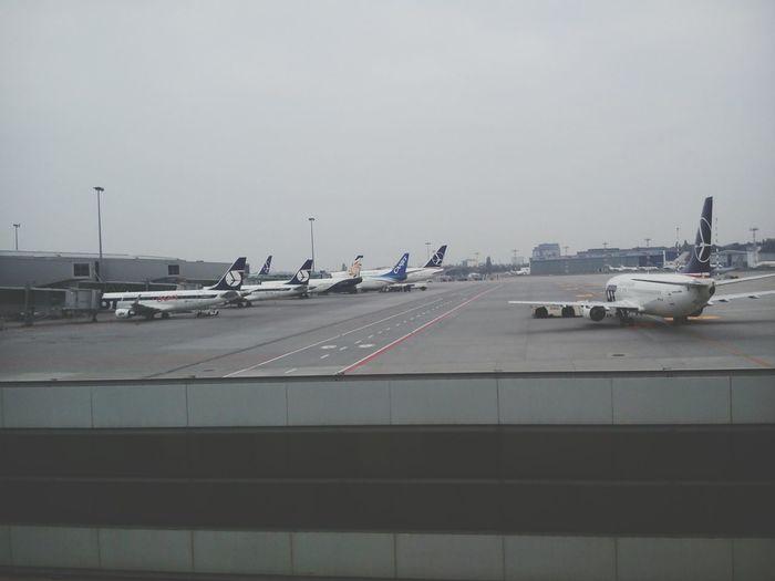 Hello :) Airport Warsaw Poland Okęcie