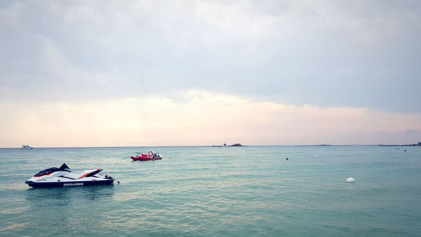 Jetski Twilight Sky Sea And Sky Cloudy Sunset Cloudy Day Clouds And Sky Ocean View Summer Summer Views Sunday Afternoon
