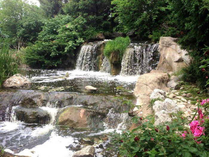 Waterfall at Lake Katherine Waterfall Lake Katherine