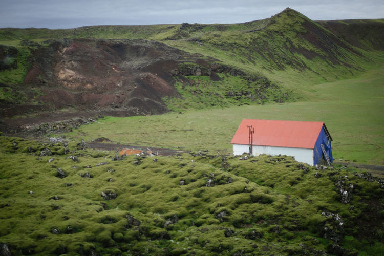 Beauty In Nature Beauty In Nature Day Green Color Iceland Iceland_collection Landscape Nature Nature No People Outdoors Scenics Sky Tranquil Scene