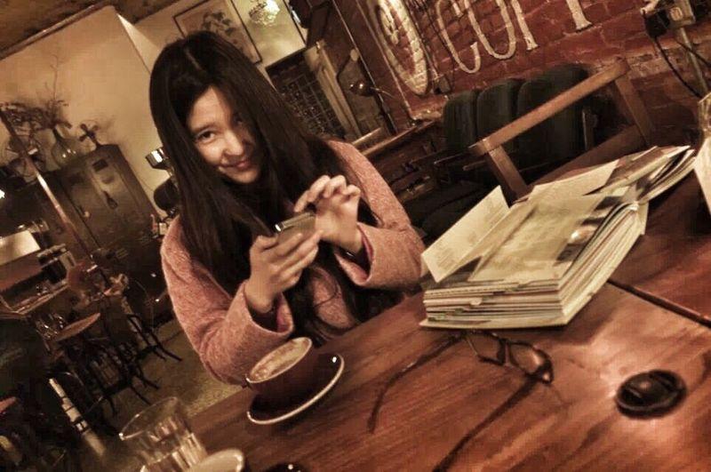 抓拍 Moment Cafe Time Meet Friend