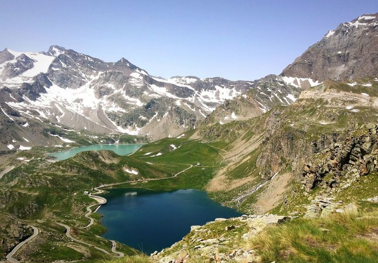 Alpine lakes in