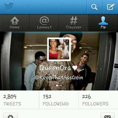 Follow Me On Twitter ❤