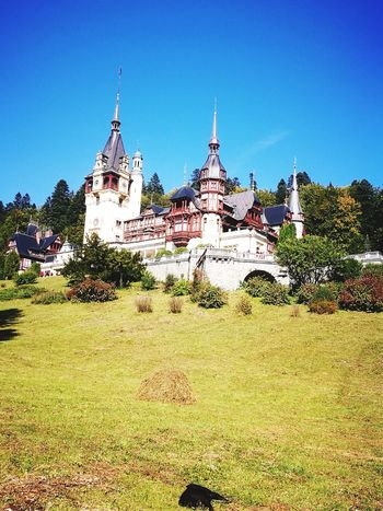 Religion Place Of Worship Architecture Pagoda Spirituality Travel Destinations History Outdoors No People Built Structure Building Exterior Sky Day Landscape Clear Sky Flower Romanian Lands Romance Mountain Heaven Hubbywifey Peles Peles Castle Amazing