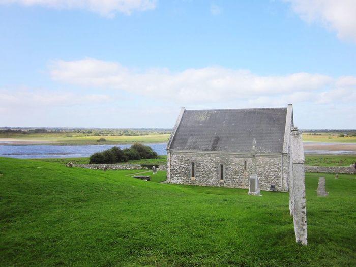 Architecture Ireland Aran Islands Sky Cloud - Sky Building Exterior Water Outdoors No People