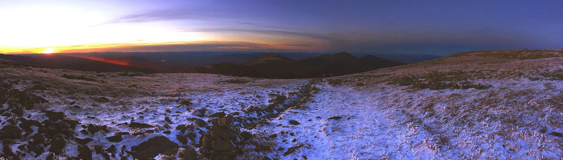 Mount Washington Backwoods Mountain Clean Air Sundown Bear Country NH Mount Washington