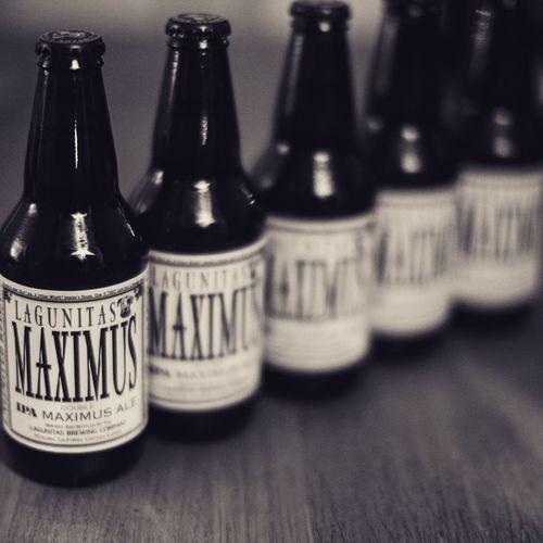 Lagunitas Beer NewYear Maximus Blackandwhite Noir Black & White